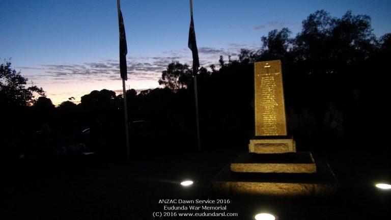 ANZAC Dawn Service 2016 Photos posted