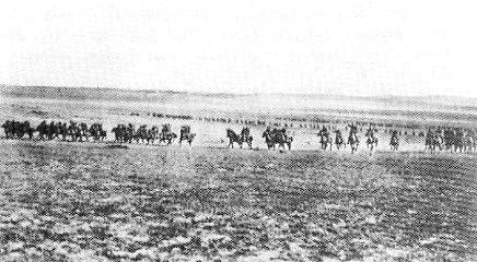 4th Light Horse Brigade at Beersheba 1917