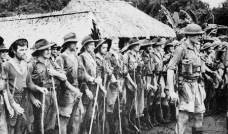 Australian 39th Battalion after the Kokoda Track campaign 1942 (AWM_013289)