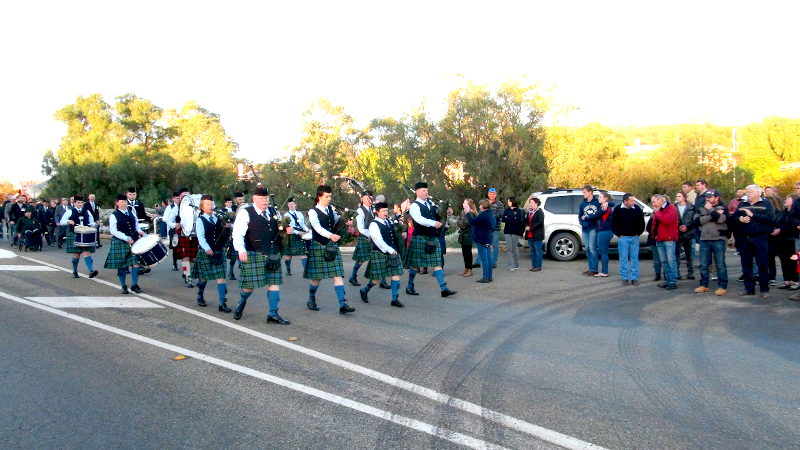 March 3 - Barossa & district Pipe Band