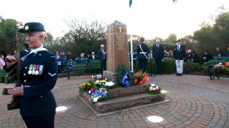 Good Attendance at ANZAC Services in Southern Goyder for 2019