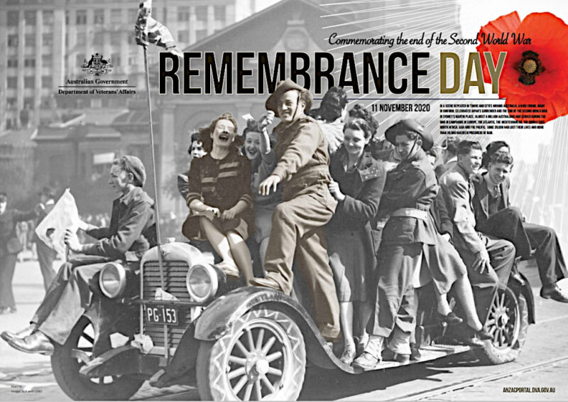 Remembrance Day - Poster 2020 - Homefront