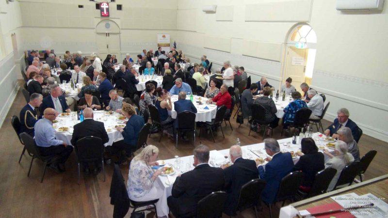 Eudunda RSL 100th - Luncheon in Eudunda Hall