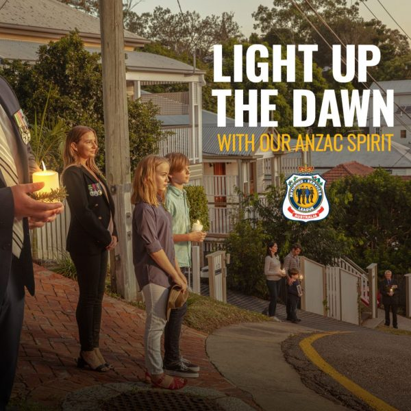 RSL ANZAC Spirit - Light Up The Dawn